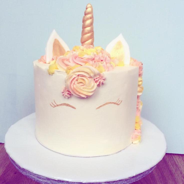 éénhoorn taart