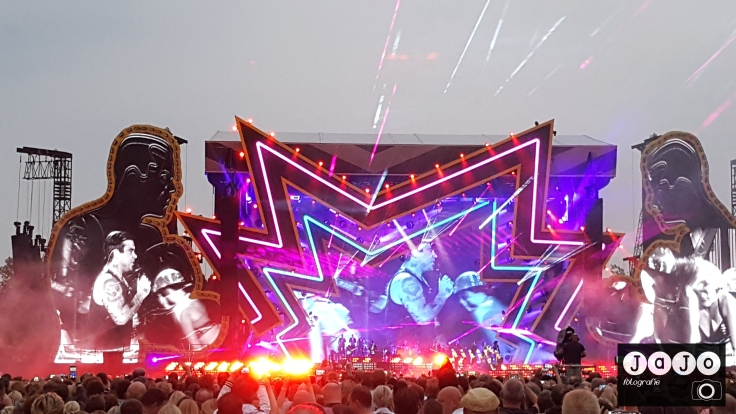 concert Robbie williams, goffertpark, nijmegen, 2017