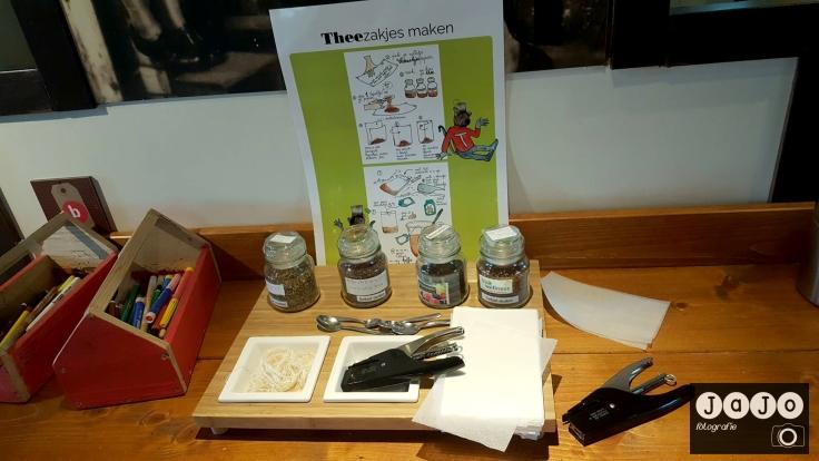 Pichkick thee, theezakjes, joure museum