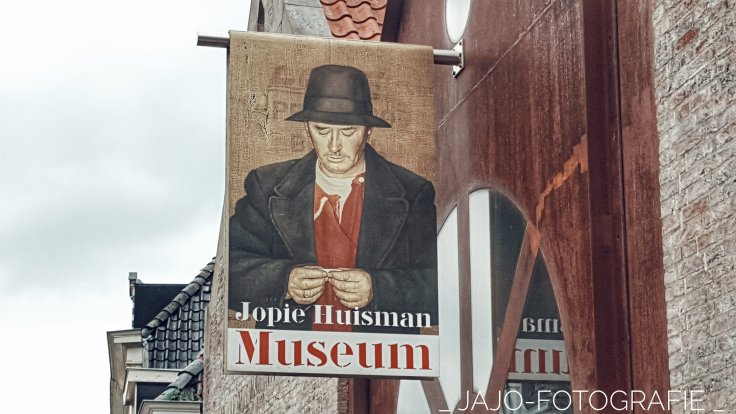 Zelfportret, Jopie Huisman, Ingang, Museum