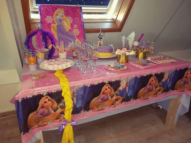 Rapunzel, themafeestje, Kinderfeest