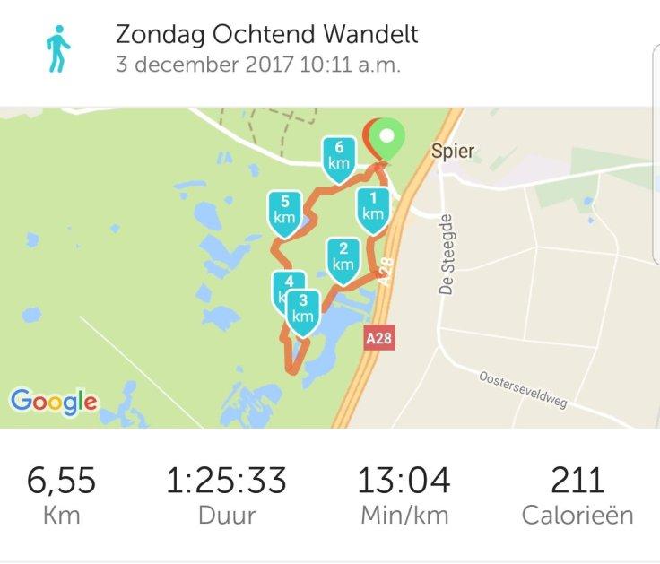 Route, Google, Wandeling, Lopen