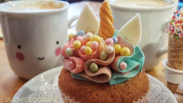 Cupcake, unicorn, koffie, litte lovely living, Groningen.