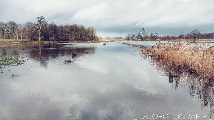 Drenthe, hoog water, deurzerdiep