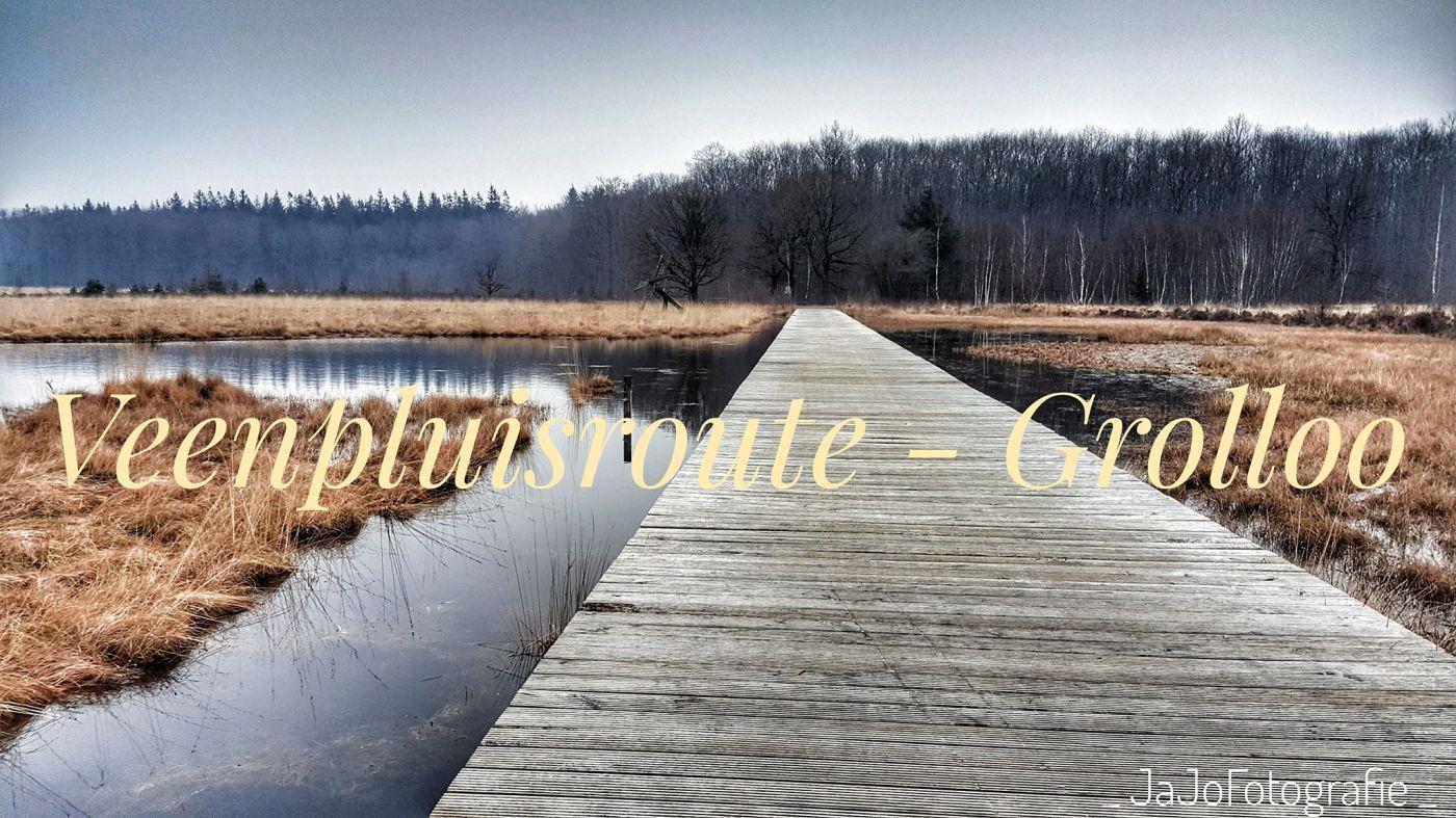 Veenpluisroute. Grolloo, Natuur, Buiten, Wandelen, Drenthe