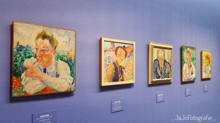 Portretten, Groningen, Groninger museum, 100 jaar de ploeg, de ploeg, cultuur, kunstkring