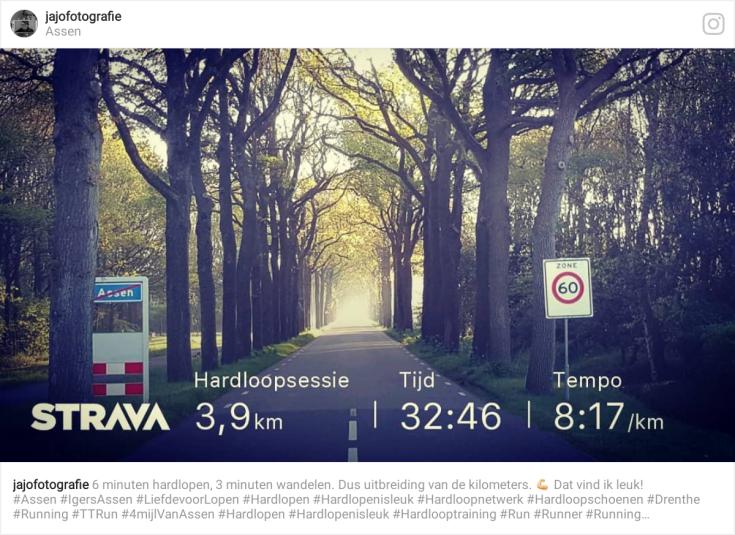 Hardlopen, strava, TT run, Training, Hardloopschema