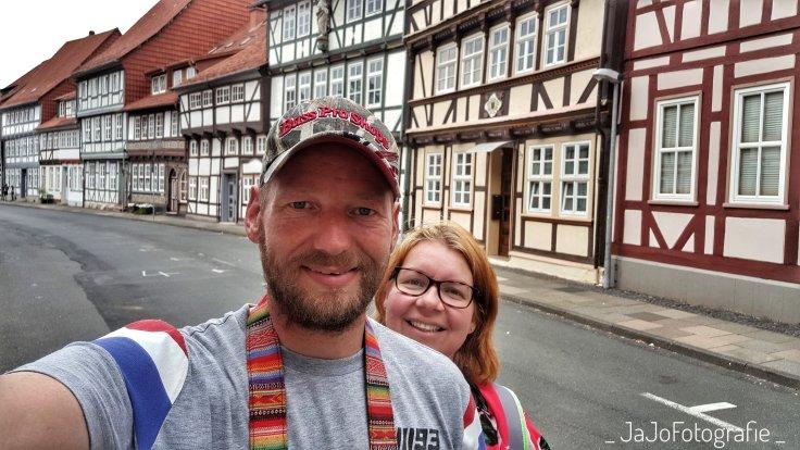 Selfie, Vakwerk, Vakwerkhuizen, Duderstadt, Harz