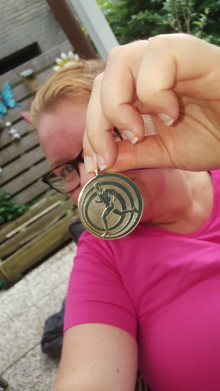 Medaille, hardlopen, Bosloop Veenhuizen, Veenhuizen, Rennen, Run2Day