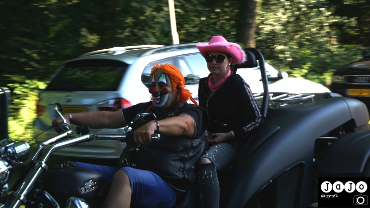 TT Festival, TT Nightride, Clown, Trike, Motoren, Assen, Drenthe, TT Assen