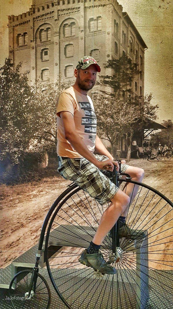 Hoge Bi, SP Speicher, Einbach, Harz, Museum, Auto's, fietsen,