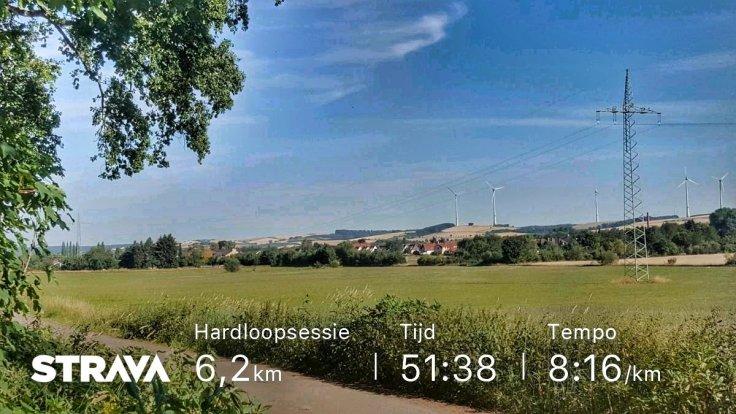 Hardlopen, Fitbit, Strava, Hardlopen op vakantie, Harz, Running