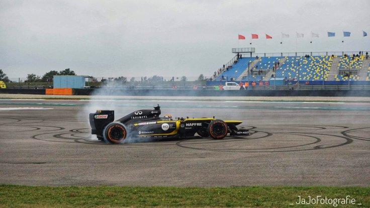 Carlos Saintz, Formule 1, Formule 1 Assen, Gamma Racing Day, Renault Formule 1, Renault