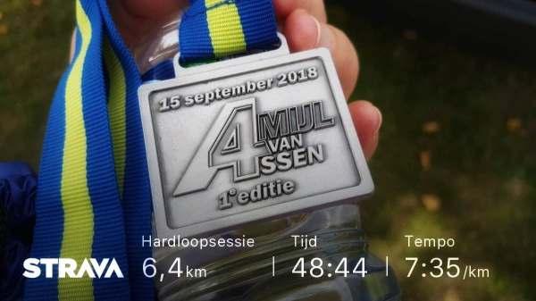 Medaille, Assen, 4 Mijl. Hardlopen, Hardloopschoenen