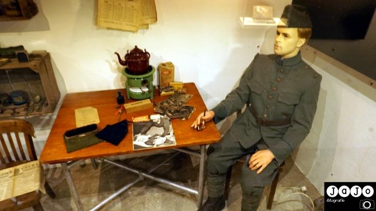 Kazematten, Tweedewereloorlog, Emaille, Militair