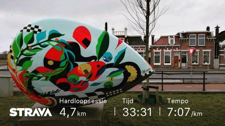 Hardlopen, 5km, Running Run2Day, Assen, TTRoute