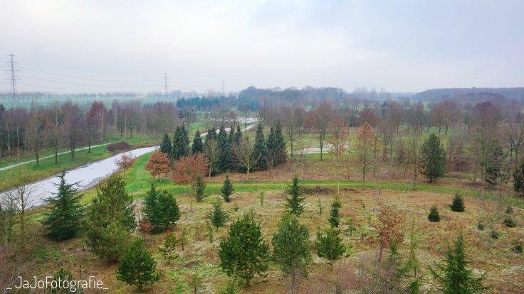 Arboretum Assen, Bomentuin, werelddeel Europa, Uitkijktoren wandelroute Assen