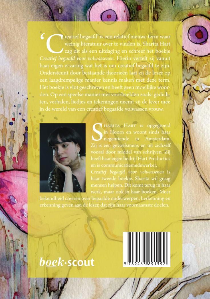 Achterzijde, lezen, omschrijving van het boek, creatief begaafd voor volwassenen, boekrecensie, lezen,. review