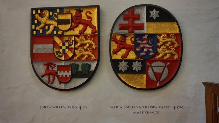 Marijke Meu, Maria Louise, johan Willem Friso, Schild, Grote kerk, Jacobijnkerk