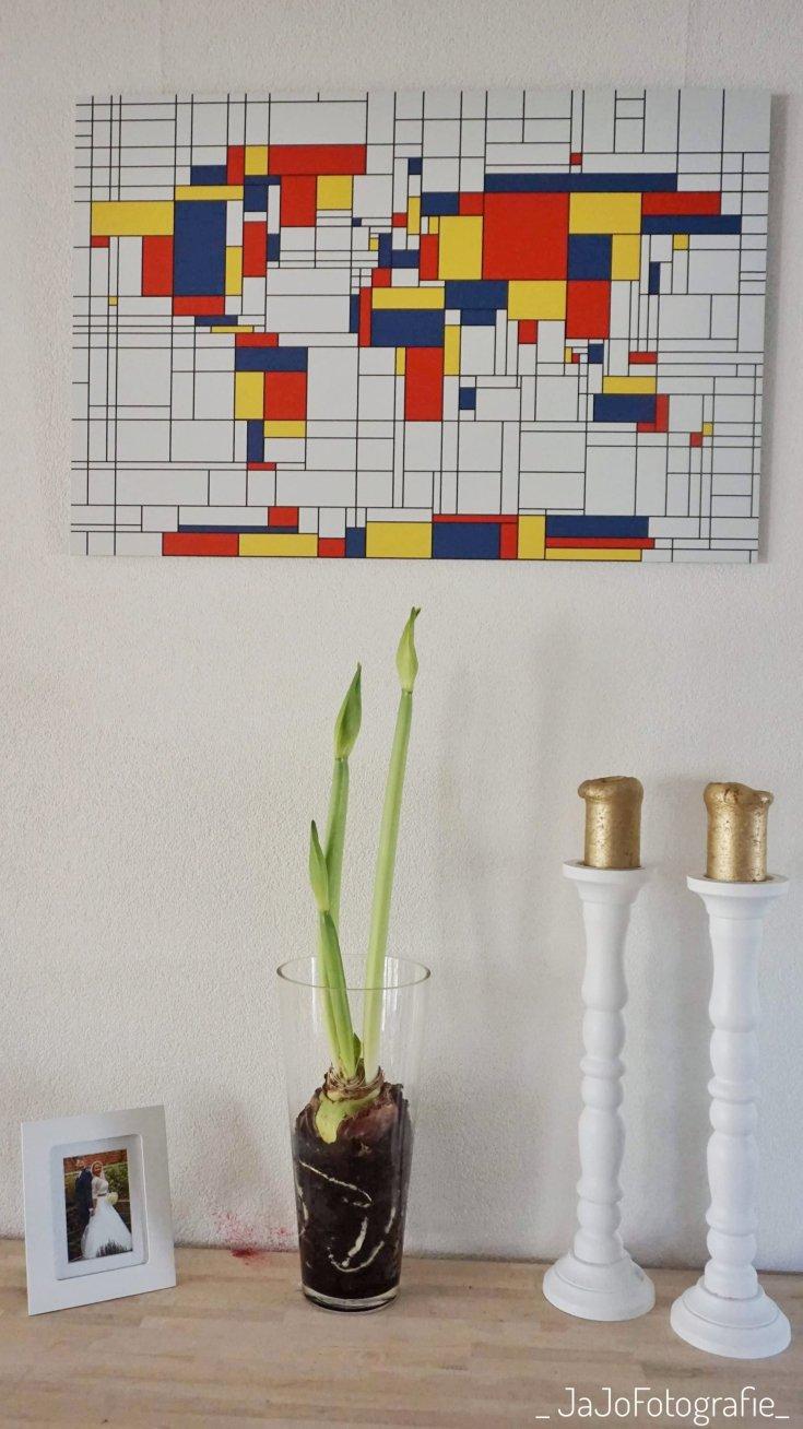 Mondriaan, foto op Aluminium, wereldkaarten.nl, wereldkaart, review