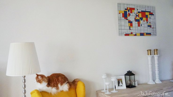 Mondriaan, Wereldkaart, Werelkaarten.nl, review