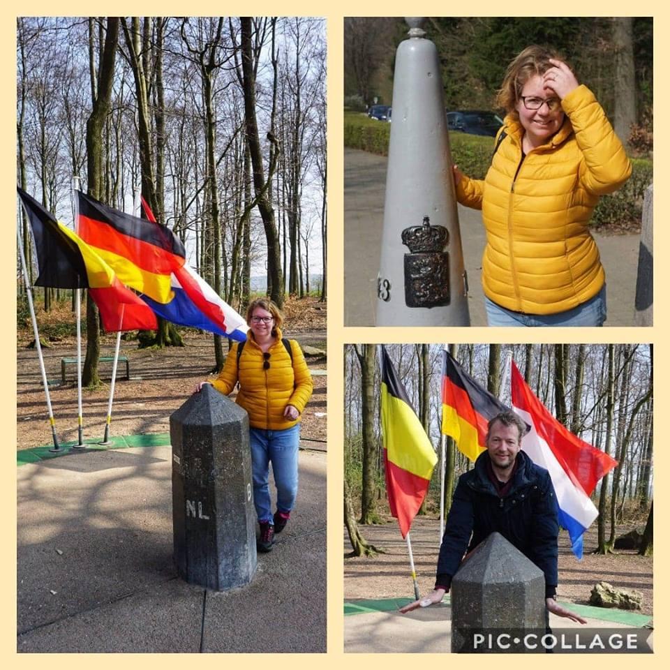 Drielandenpunt, Vaals, Duitsland, Belgie, Hoogste punt van Nederland. Toerist, Zuid Limburg, Visit Zuid Limburg