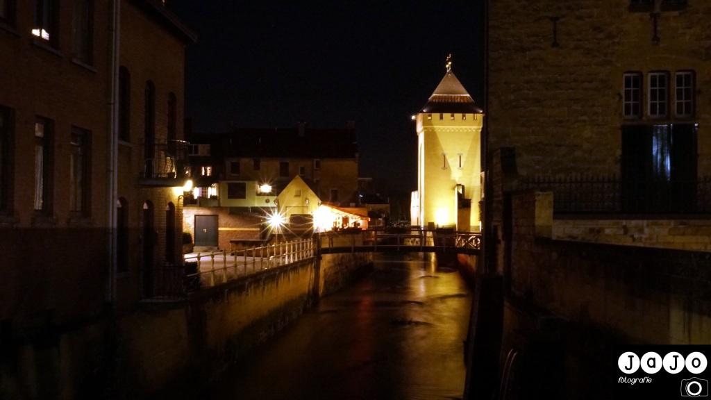 Geulpoort, Nacht foto, Limburg, Valkenburg, Zuid Limburg, Visit Zuid Limburg